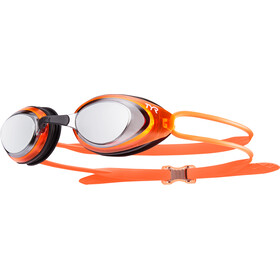 TYR Blackhawk Racing Polarized Lunettes de protection Homme, silver/orange